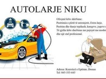 Kompani dhe Prodhusë: Autolarje-Cafe Bar NIKU