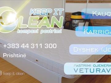 Kompani dhe Prodhusë: kompani pastrimi
